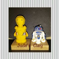 C3p0 and r2d2 clay