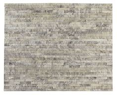 """Pure Linea Cowhide Rugs - All Rugs - Rugs - Room & Board  7'-10"""" x 9'-10""""  $3696 not including rug pad"""