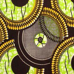 African Wax Print Fabric #93