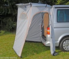 REIMO-FRITZ-TAILGATE-TENT-VW-T4-T5-T6-Awning-Shower-Storage-FREE-P-P-SALE