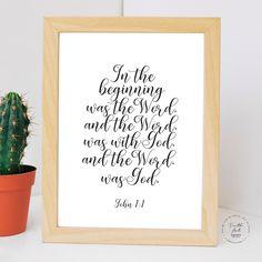 I can do all things through Christ which strengtheneth me. Philippians KJV, Bible Verse, Wall Art Decor Digital Print by FaithArtShoppe Wall Art Decor, Wall Art Prints, Philippians 4 13, Mug Printing, Bible Verses, Niv Bible, Printed Materials, Digital Prints, Christ