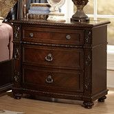 Found it at Wayfair - Hillcrest Manor 3 Drawer Nightstand
