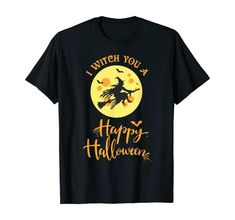 I Witch you a Spooky, Scary and Happy Halloween T-Shirt   What better way to enjoy Halloween than witch everyone a spooky, scary  and Happy Halloween. Grab your broomstick and be prepared to trick and treat on October 31st with this great design. This design is an awesome gift for the friend you know that loves telling scary stories in the dark by the campfire during the  witching hour. Cairn Terrier, Terrier Dogs, Dog Halloween Costumes, Adult Costumes, Haunted Halloween, Halloween 2020, Happy Halloween, Italian Greyhound Dog, Field Spaniel
