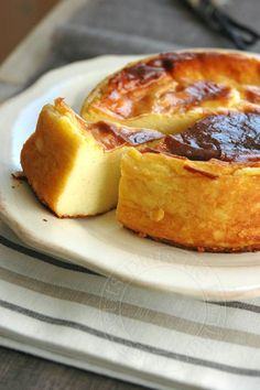 small dishes trinidad: Parisian pastry flan without Michalak