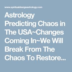 Rajat nayar best astrologer in usa is well experienced astrology pr astrology predicting chaos in the usachanges coming inwe will break from the chaos to restore our future publicscrutiny Images