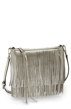 Free shipping and returns on Rebecca Minkoff 'Finn' Convertible Leather Clutch at Nordstrom.com. Tiered fringe amps up the street-chic attitude of a striking leather clutch furnished with an optional crossbody strap that offers effortless hands-free versatility.