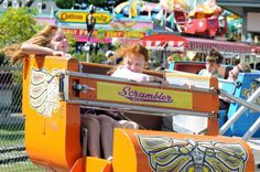 nthe Scrambler on Friday, Aug. 29, 2014, at Hoffman's Playland in Colonie N.Y. (Cindy Schultz / Times Union) Photo: Cindy Schultz / 10028400A