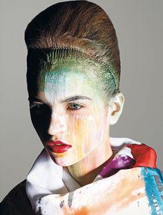 Photo by Mario Sorrenti -Vogue Italia, agosto 2008