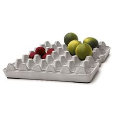 concrete egg tray... cool