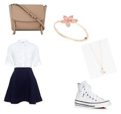 """""""Yeah I have no title names!!"""" by coolpersons-5 on Polyvore featuring Paul & Joe Sister, Converse, Full Tilt and DKNY"""