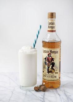 Coconut Rum Milkshake | 26 Boozy Milkshakes That Know How To Partying