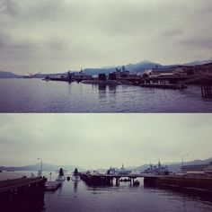 【hiroshi460419】さんのInstagramをピンしています。 《#2016 #september30 #港 #harbor #海沿い #海 #ocean #sea #潜水艦 #submarine #cloudyday #曇り #曇り空 #空 #sky #呉 #kure #広島 #hiroshima #日本 #Japan》