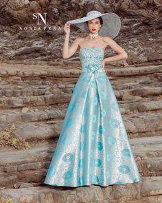 Vestidos de Fiesta, Vestidos de madrina, Vestidos para boda, Vestidos de Coctel 2017. Colección Primavera Verano Completa 2017 Scarlett. Sonia Peña - Ref. 1170156