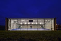 Lardy Sports Hall / Explorations Architecture #architecture