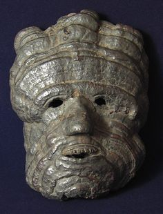 Asian Tribal Art - Fungal mask, Nepal described as a house-protecting mask from…