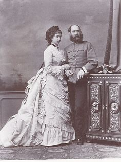 Their Imperial and Royal Highnesses Archduke Karl Ludwig and Archduchess Maria Theresa, Prince and Princess Imperial of Austria, Prince and Princess Royal of Hungary and Bohemia