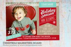 IC002 Christmas Marketing Board by Paper Lark  on @creativemarket