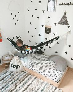 Trendy Kids Room Ideas For Boys Toddler Bedrooms Nurseries Boy Toddler Bedroom, Childrens Bedroom Decor, Playroom Decor, Baby Bedroom, Baby Boy Rooms, Baby Room Decor, Girls Bedroom, Floor Bed For Toddler, Floor Bed Kids