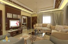 STYLISH APARTMENT DESIGN USE #CNC AND CEILING BOARD