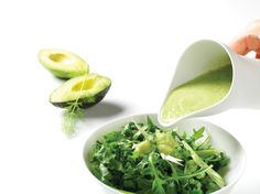 Avocado-Cucumber Dressing with Dill | Vegetarian Times