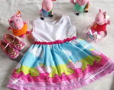 Vestido fantasia festa peppa pig