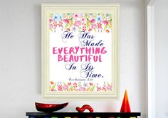 Hey, I found this really awesome Etsy listing at https://www.etsy.com/listing/460617336/ecclesiastes-311-he-has-made-everything