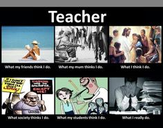 Life of a teacher