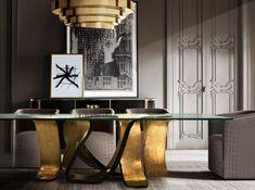 Exclusive interior design trends by KOKET| http://www.bykoket.com/index.php #bykoket #luxuryfurniture #exclusivedesign #interiordesign #designideas #designtrends #luxurydesign