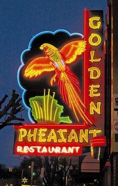 Neon: Golden Pheasant Restaurant