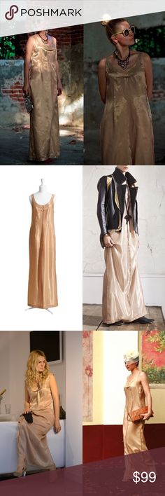 Interstep white and gold dress