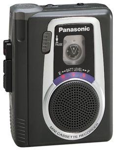 Panasonic RQL10 Mini Cassette Recorder