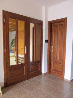 23, Fenyő pácolt lakkozott beltéri ajtók