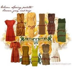 warm spring palette - Yahoo Image Search Results
