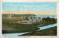 Kealia Hawaii Makee Sugar Company Sugar Mills Antique Postcard J5193 | eBay