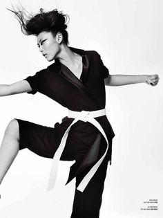 Edita, Bianca Balti, Liu Wen & Sung Jin Park Are Fierce By Mario Testino for V#82 - 3 Sensual Fashion Editorials | Art Exhibits - Anne of Carversville Women's News