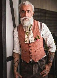 Alexandro manfredini guys with tattoos tattooed peeps for Silver fox tattoo