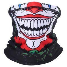 Graffiti Designs, Graffiti Prints, Street Graffiti, Biker Bandanas, Motorcycle Face Mask, Rave Mask, Clown Faces, Half Face Mask, Tube Scarf