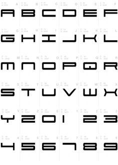 Porsche Font Typography.