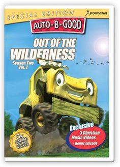 Auto-B-Good: Out of the Wilderness Special Edition // When EJ and Izzi adopt a lost car in the wilderness and take him home, they learn the importance of being friendly, peaceful and grateful. Give your child the Bible-centered values you cherish told with exciting characters and award-winning animation your child will love! Featuring 3 music videos and a full-length bonus episode, it is sure to be a crowd pleaser with kids of all ages!