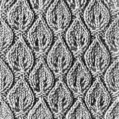 Knitting Pattern Square No. 14, Volume 34   Free Patterns   Yarn