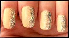 Image result for nude with silver glitter