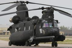 """This is what a Chinook on steroids looks like. 160th SOAR """"Night Stalkers"""" - Photo taken at Tulsa - International (Municipal) (TUL / KTUL) in Oklahoma, USA on April 16, 2008."""