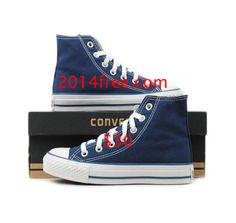 Converse Shoes Navy Blue Chuck Taylor All Star Classic High Top   #Blue #Womens #Sneakers