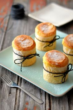 Portuguese Rice Cakes