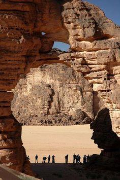L'Arche de Tikoubaouine - Illizi - Algérie