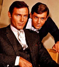 Adam West & Burt Ward as Bruce Wayne & Dick Grayson.  Batman (TV series) January 12, 1966, to March 14, 1968