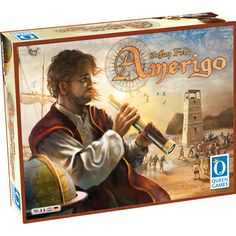 Amerigo-  An exploration game that centers itself around action selection using a cube tower... sounds really interesting.