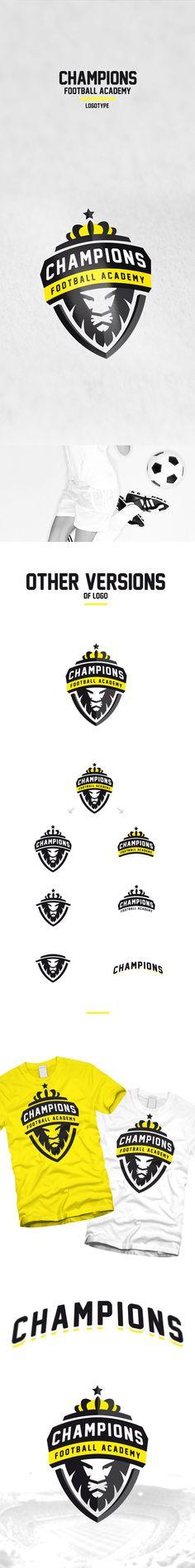 https://www.behance.net/gallery/25357427/Champions-Football-Academy