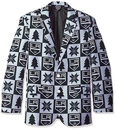 NHL Los Angeles Kings Mens Patches Ugly Business Jacket - Mens Size 48, 48 (X-Large)  https://allstarsportsfan.com/product/nhl-los-angeles-kings-mens-patches-ugly-business-jacket-mens-size-48-48-x-large/  Made of 100% polyester Dare to look sharp at your Next gathering Features vibrant team colors and logos