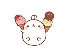 #molang #kawaii #icecream